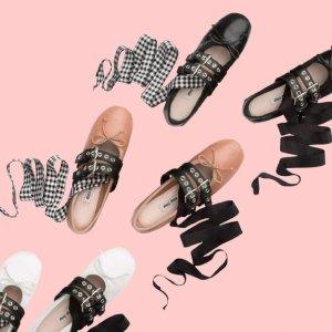 低至5折 收芭蕾舞鞋Miu Miu 精选美鞋热卖 既是少女也是公主