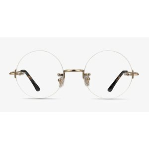 EyeBuyDirectPalo Alto - Round Golden Frame Glasses | EyeBuyDirect