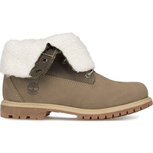 Timberland灰色加绒靴