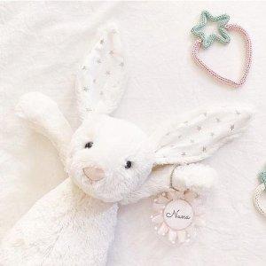 £18收星星耳朵邦尼兔Jellycat 软萌网红毛绒玩具好价 邦尼兔、笑脸水煮蛋都在线
