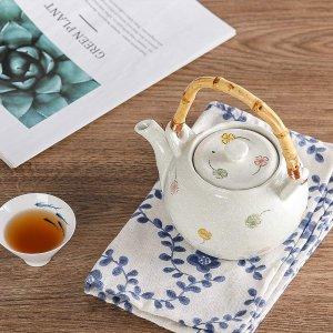 7.5折起 竹柄传统茶壶€19.99Amazon 茶壶茶具合集 闲时来一壶茶 享受属于自己的慢时光