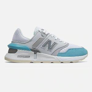New Balance997 蓝白拼色运动鞋