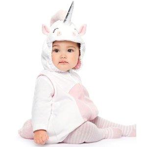 包邮+3.5折起 或叠券享3折折扣升级:Carter's 儿童超萌万圣节装扮服饰一日热卖