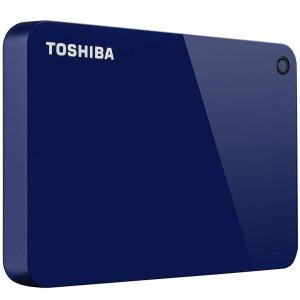 $59.99 (原价$69.99)Toshiba Canvio Advance 2TB 移动硬盘