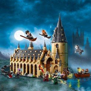8折 $103.99(原价$129.99)LEGO 乐高 哈利·波特系列 霍格沃茨大礼堂 878块