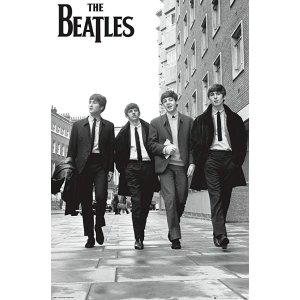 Trends InternationalThe Beatles-in London Mount Bundle Wall Poster, 22.375