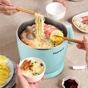 Topwit Electric Hot Pot Mini, Electric Cooker