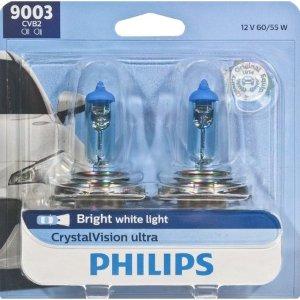 PhilipsCrystalVision Ultra 9003 升级灯泡 2只装