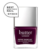 Butter London Toodles! Patent Shine 10X Nail Lacquer——深丝绒紫色