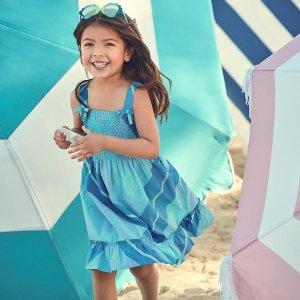 $7.99起 新款上架Gymboree 女童连衣裙热卖 做个美美的人鱼公主