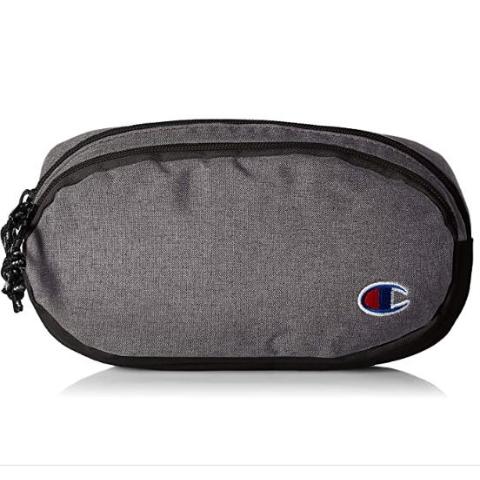 $14.36(原价$21.99)Champion 小C标腰包 想要酷挂个包 双层收纳空间