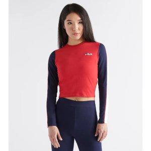FilaAnouk Crop Top (Red) - LW933198-640   Jimmy Jazz
