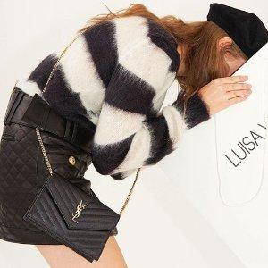 无门槛6折 £654收YSL包包 猫耳包£195最后一天:Luisaviaroma 全场无星标狂欢+送礼卡 收Guidi、Loewe、巴宝莉