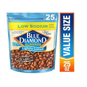 Blue Diamond Almonds美国低盐大杏仁 25 Ounce
