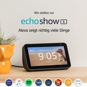 史低价:echo show 5 新一代智能中控屏幕语音助手