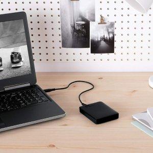 1TB仅€46 多容量可选WD Elements 大容量移动硬盘 数据备份 写论文必备