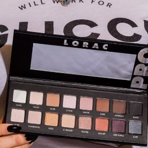 修容套装$55收上新:美国专业美妆品牌 LORAC进驻 收PRO3眼盘