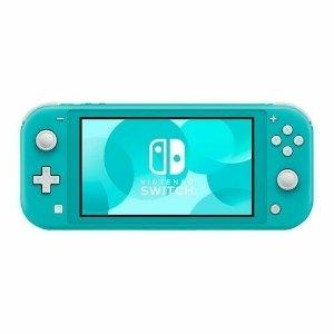 $179.99 (原价$199.99)Nintendo Switch Lite 掌机 绿松石配色