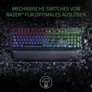 7.2折 €128.9(原价€179.99)Razer BlackWidow Elite RGB 绿轴游戏键盘 嗒塔塔疯狂操作