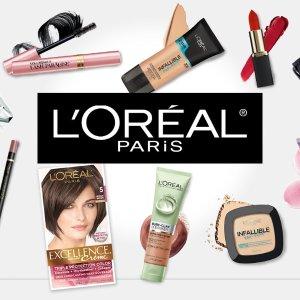 满$30享7折逆天价:L'oreal、Garnier、Maybelline 彩妆/护肤/护发 全场特惠