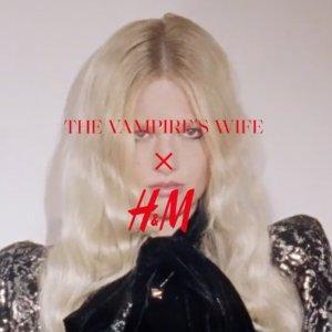 €19.99收蕾丝亮片裙上新:H&M X The Vampire's Wife联名美衣 哥特式浪漫性感风