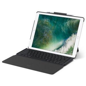 秒杀¥596,带智能连接器史低价:Logitech ipad pro 12.9英寸可拆卸背光超薄键盘
