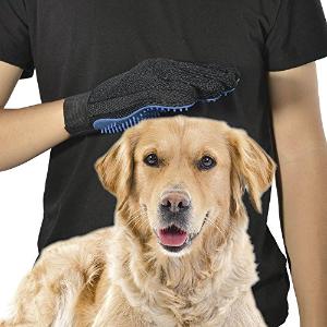 闪购:DELOMO 宠物毛发梳理手套