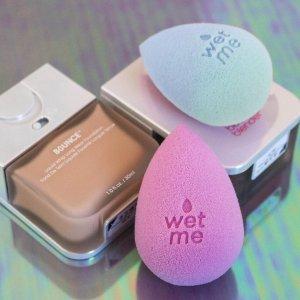 售价$27 遇热水变蓝上新:BeautyBlender 变色美妆蛋开售