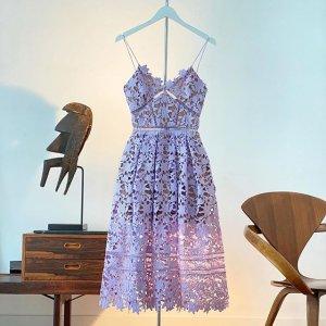 低至3折 €144收封面同款Self-Portrait 仙气飘飘的美衣美裙 张雨绮、宋茜、Lisa都爱穿