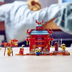 $29.86(原价$49.99)补货:Lego Minions 小黄人功夫较量 (75550)  310 块