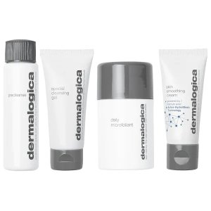 Dermalogica清洁+保湿 懒人护肤必买明星4件套