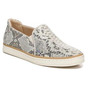 Naturalizer纤维鞋面蛇纹压纹平底鞋