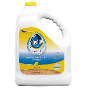 Pledge 木质地板专用清洁剂 柠檬香味 1加仑