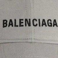 Balenciaga logo 棒球帽