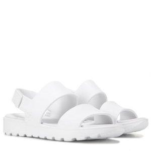 Skechers第二件半价 变相7.5折女款纯白凉鞋