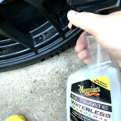 $8 黑科技DIY 洗车不用水