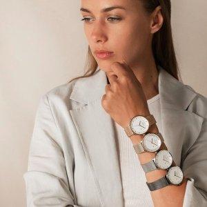 9.5折+额外8.5折独家:Nordgreen 小众品牌 北欧设计手表 舒适且简约 打造高级感搭配