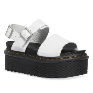 Dr Martens防水台厚底凉鞋