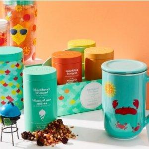 买2送1 $6.59收20茶包DAVIDsTEA 用好茶开启一天 美容保健双功效 茶+杯优惠全Get
