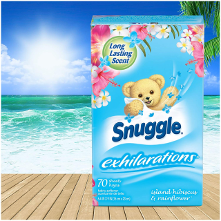 $0.5 After RewardSnuggle Exhilarations Fabric Conditioner Dryer Sheet