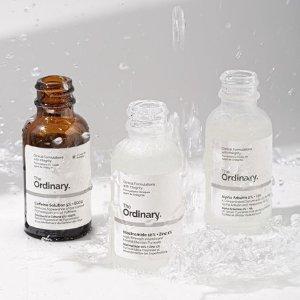 收敛毛孔精华$10.59上新:The Ordinary 大容量护肤热卖 收超纯补水玻尿酸