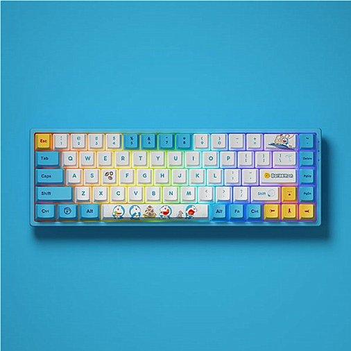 AKKO x 哆啦A梦联名机械键盘(众测)