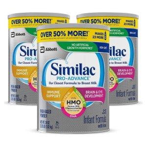 买2减$10Similac、Enfamil 等婴幼儿奶粉促销