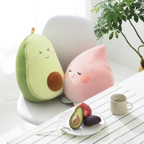水果造型抱枕毯子