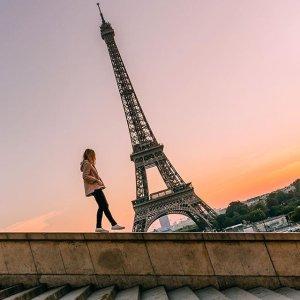 $739起 机票+酒店+早餐巴黎+罗马 6-9晚旅行套餐 可选美国多地出发