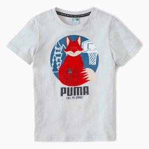 Puma儿童小狐狸T恤