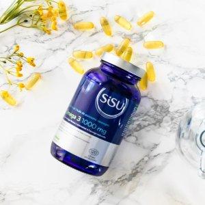 $29.79(Well $39)SISU Omega3胶囊 1000毫克 120颗 加拿大本土品牌保健品