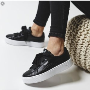 Puma2 For $80Vikky Stacked Ribbon Core Women's Sneakers
