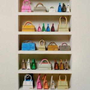 2.5折起 可爱小包$135+Jacquemus 震撼大促 设计感鞋包服饰全降价