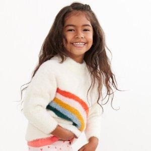 6折包邮Hanna Andersson 秋季服饰促销,每年畅销的温暖毛衣来啦